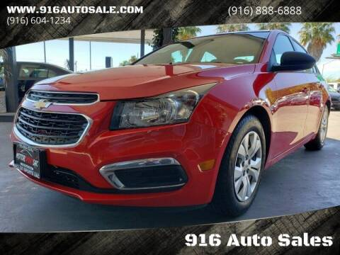 2015 Chevrolet Cruze for sale at 916 Auto Sales in Sacramento CA