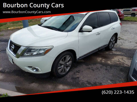 2014 Nissan Pathfinder for sale at Bourbon County Cars in Fort Scott KS