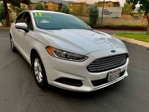 2015 Ford Fusion for sale at Select Auto Wholesales in Glendora CA