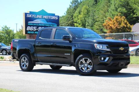 2016 Chevrolet Colorado for sale at Skyline Motors in Louisville TN
