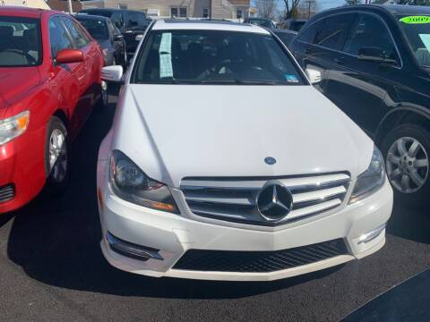 2013 Mercedes-Benz C-Class for sale at Park Avenue Auto Lot Inc in Linden NJ