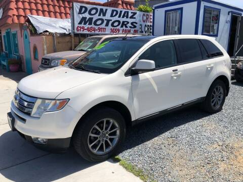 2008 Ford Edge for sale at DON DIAZ MOTORS in San Diego CA