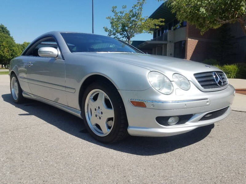 2002 Mercedes-Benz CL-Class for sale at J.K. Thomas Motor Cars in Spokane Valley WA