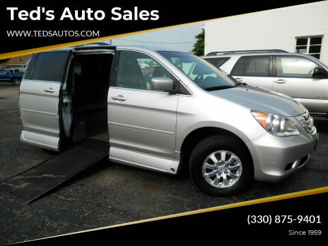 2009 Honda Odyssey for sale at Ted's Auto Sales in Louisville OH