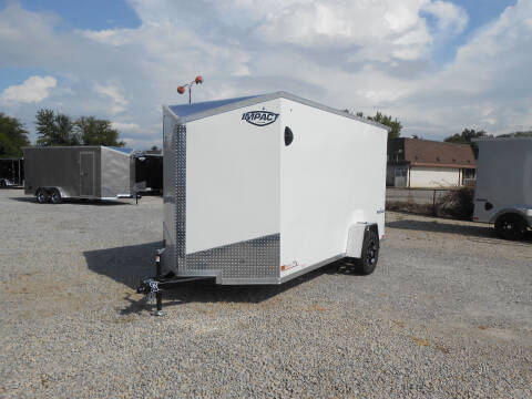 2022 Impact Shockwave 6x12 for sale at Jerry Moody Auto Mart - Trailers in Jeffersontown KY