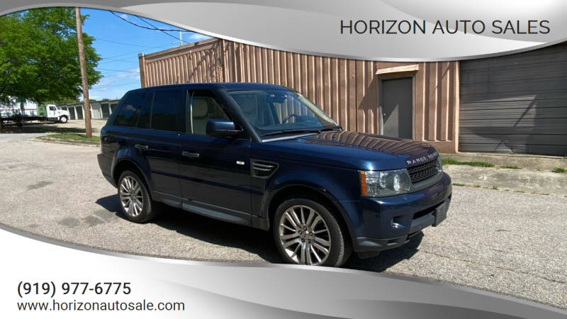 2011 Land Rover Range Rover Sport for sale at Horizon Auto Sales in Raleigh NC