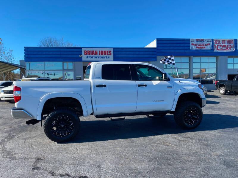 2018 Toyota Tundra for sale at Brian Jones Motorsports Inc in Danville VA