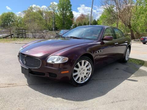 2006 Maserati Quattroporte for sale at Velocity Motors in Newton MA