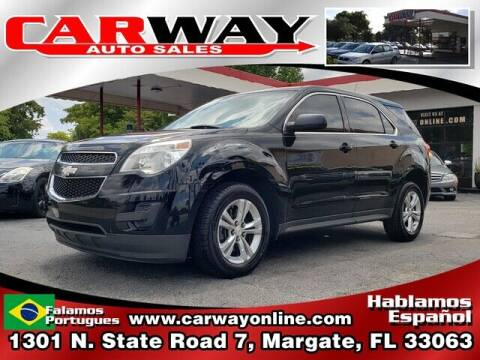 2013 Chevrolet Equinox for sale at CARWAY Auto Sales in Margate FL