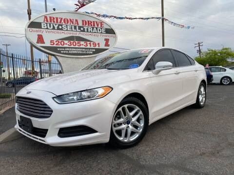 2016 Ford Fusion for sale at Arizona Drive LLC in Tucson AZ