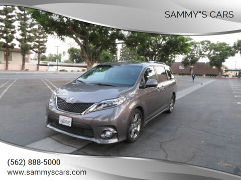 "2015 Toyota Sienna for sale at SAMMY""S CARS in Bellflower CA"