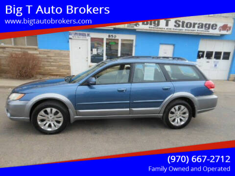 2008 Subaru Outback for sale at Big T Auto Brokers in Loveland CO