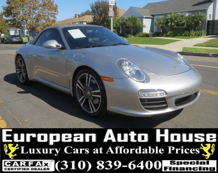 2012 Porsche 911 for sale at European Auto House in Los Angeles CA