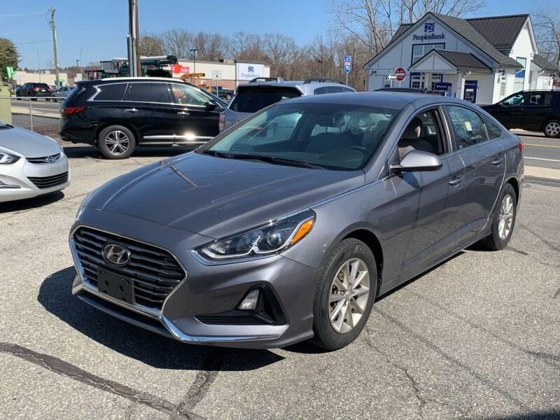 2018 Hyundai Sonata for sale at Ludlow Auto Sales in Ludlow MA
