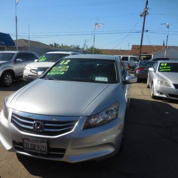 2012 Honda Accord for sale at Luxor Motors Inc in Pacoima CA