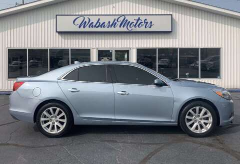 2013 Chevrolet Malibu for sale at Wabash Motors in Terre Haute IN