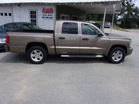 2009 Dodge Dakota for sale at Foothills Used Cars LLC in Campobello SC