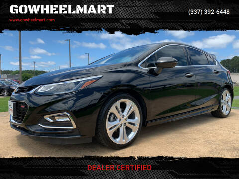 2017 Chevrolet Cruze for sale at GOWHEELMART in Leesville LA
