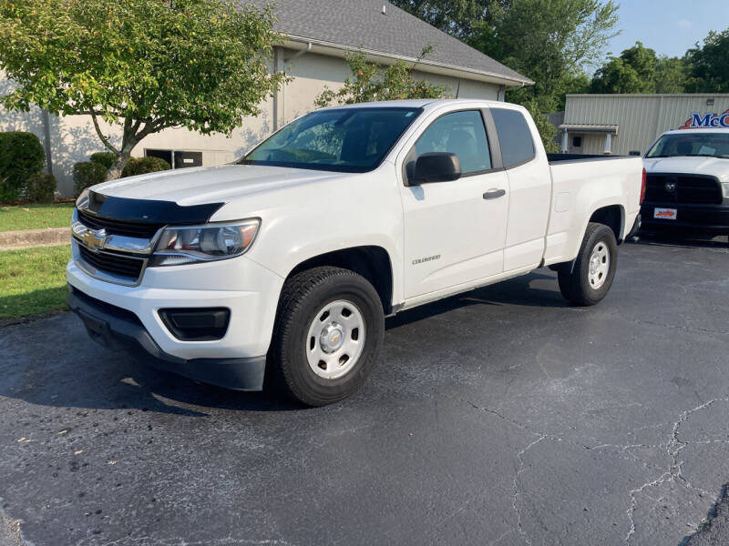 2016 Chevrolet Colorado for sale at McCully's Automotive - Trucks & SUV's in Benton KY