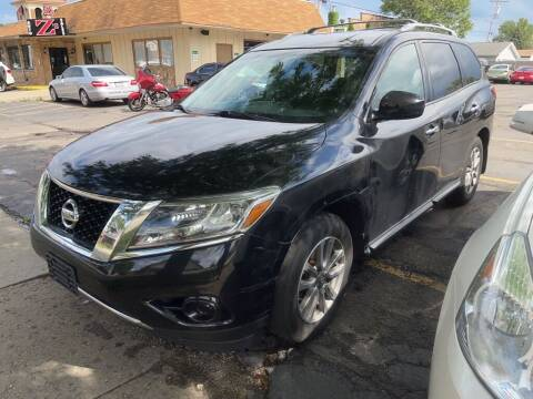 2015 Nissan Pathfinder for sale at Zs Auto Sales in Kenosha WI
