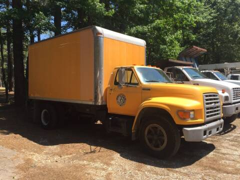 1995 Ford F-800 for sale at M & W MOTOR COMPANY in Hope AR