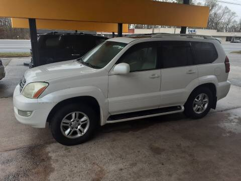 2005 Lexus GX 470 for sale at PIRATE AUTO SALES in Greenville NC