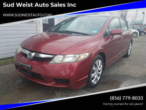 2011 Honda Civic for sale at Sud Weist Auto Sales Inc in Maple Shade NJ