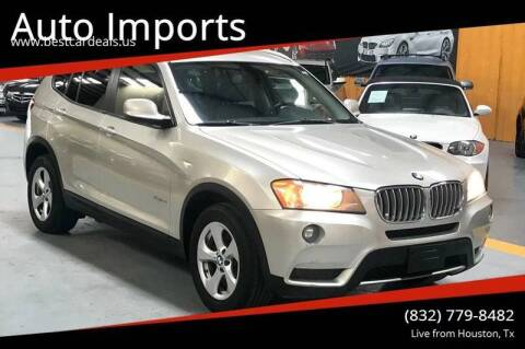2011 BMW X3 for sale at Auto Imports in Houston TX