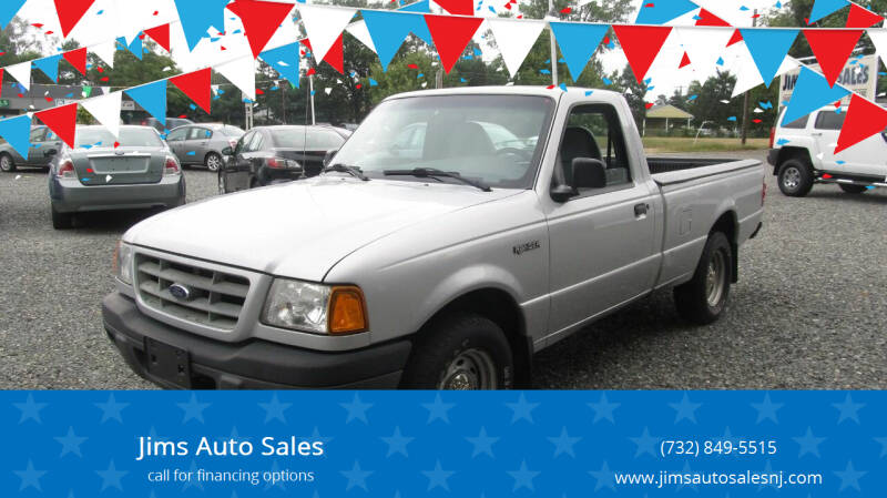 2003 Ford Ranger for sale at Jims Auto Sales in Lakehurst NJ