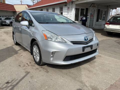2012 Toyota Prius v for sale at STS Automotive in Denver CO