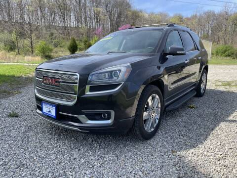 2013 GMC Acadia for sale at Court House Cars, LLC in Chillicothe OH