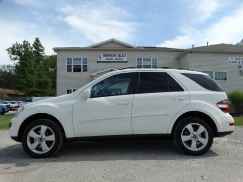 2009 Mercedes-Benz M-Class for sale at SOUTHERN SELECT AUTO SALES in Medina OH