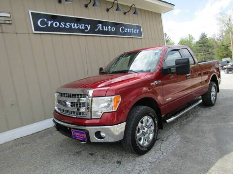 2014 Ford F-150 for sale at CROSSWAY AUTO CENTER in East Barre VT