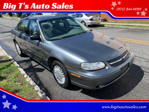 2003 Chevrolet Malibu for sale at Big T's Auto Sales in Belleville NJ