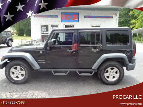2014 Jeep Wrangler Unlimited for sale at PROCAR LLC in Portland TN
