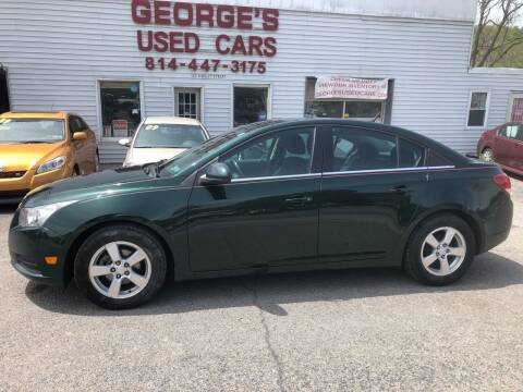 2014 Chevrolet Cruze for sale at George's Used Cars Inc in Orbisonia PA