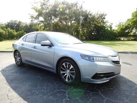 2015 Acura TLX for sale at SUPER DEAL MOTORS 441 in Hollywood FL