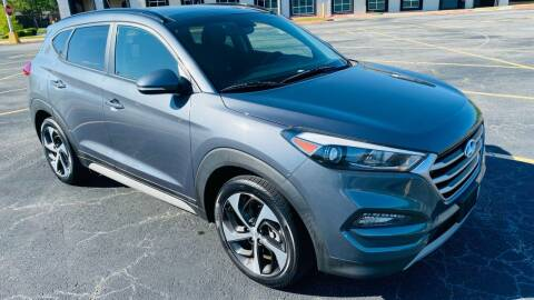 2017 Hyundai Tucson for sale at H & B Auto in Fayetteville AR