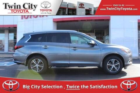 2016 Infiniti QX60 for sale at Twin City Toyota in Herculaneum MO