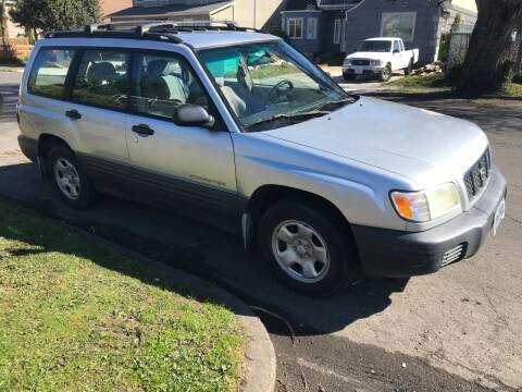 2002 Subaru Forester for sale at Chuck Wise Motors in Portland OR