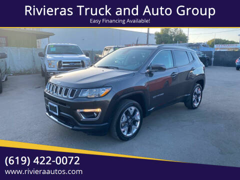 2019 Jeep Compass for sale at Rivieras Truck and Auto Group in Chula Vista CA