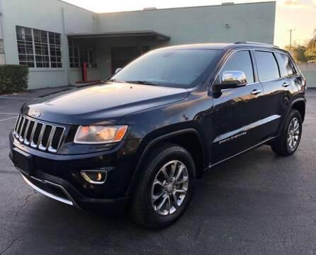 2014 Jeep Grand Cherokee for sale at Meru Motors in Hollywood FL