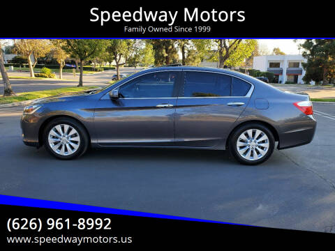 2013 Honda Accord for sale at Speedway Motors in Glendora CA
