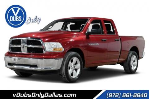 2011 RAM Ram Pickup 1500 for sale at VDUBS ONLY in Dallas TX