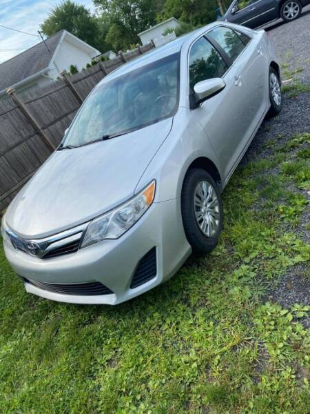 2012 Toyota Camry for sale at John's Auto Sales & Service Inc in Waterloo NY