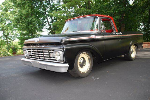 1963 Ford F-100 for sale at Uftring Classic Cars in East Peoria IL