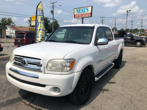 2006 Toyota Tundra for sale at Neals Auto Sales in Louisville KY
