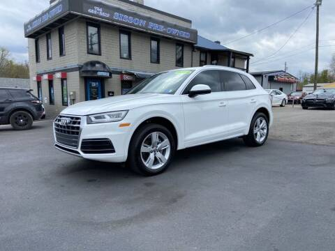 2019 Audi Q5 for sale at Sisson Pre-Owned in Uniontown PA