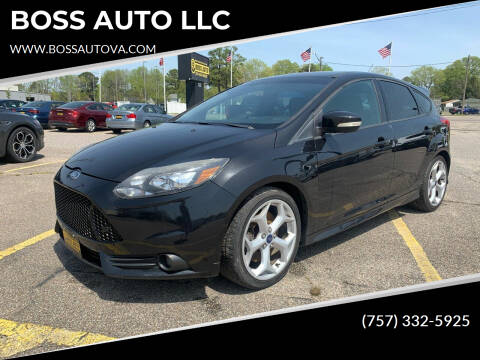 2013 Ford Focus for sale at BOSS AUTO LLC in Norfolk VA