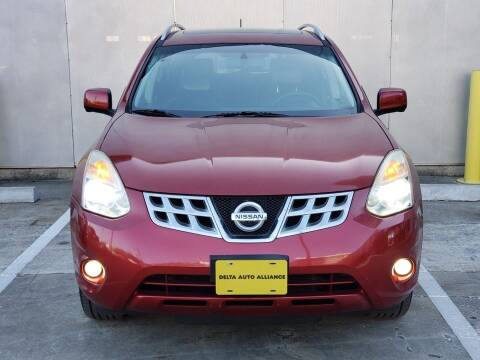 2012 Nissan Rogue for sale at Delta Auto Alliance in Houston TX